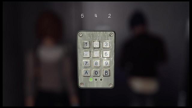 ダークルームの錠の暗証番号